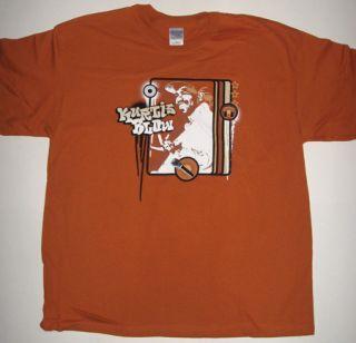 on a brand new Kurtis Blow retro style hip hop tee shirt. Kurtis Blow