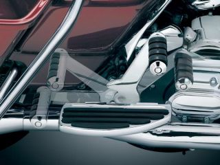 Kuryakyn 7926 Adjustable Passenger Pegs for Harley Flt FLH