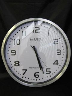 La Crosse Technology 404 1220 20 inch Extra Large Atomic Wall Clock
