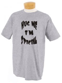 12 Colors Hug Me IM Special T Shirt Funny Short Bus Cute Add College