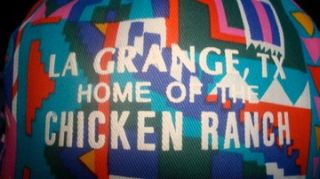 La Grange Texas Chicken Ranch Ball Cap Strip Club New