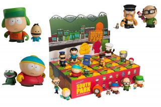 South Park Collectible Mini Figure Series 1 Single Random Blind Box