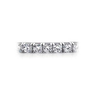 Genuine Kwiat Diamond Tennis Bracelet 18 Karat White Gold