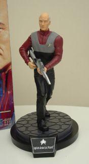 Star Trek Captain Jean Luc Picard Borg Queen 12 Figurines Playmates