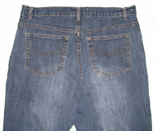 La Blues Sz 12 Womens Blue Jeans Denim Pants Stretch GS60