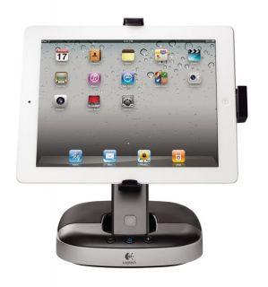 Soporte de Carga Con Altavoces Para iPad Logitech Speaker Stand iPad