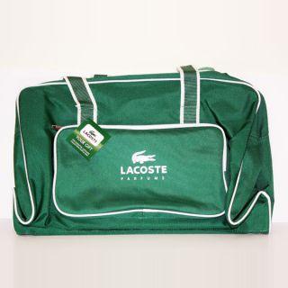 Lacoste Green Sports Duffel Bag