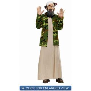 Osama Bin Laden Missile Head Full Overhead Latex Adult Mask