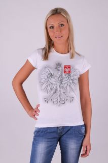 Women Ladies T Shirt Polska Poland London 2012 Volleyball Fan
