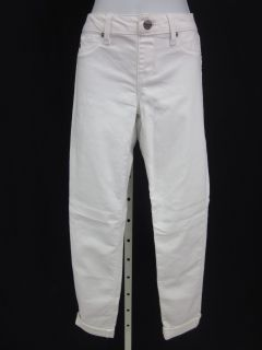 Sold Design Lab White Ankle Length Skinny Jeans Pants M