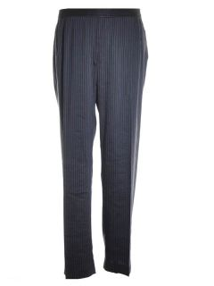 Lafayette 148 New York Straight Striped Dress Pants Navy Blue Women