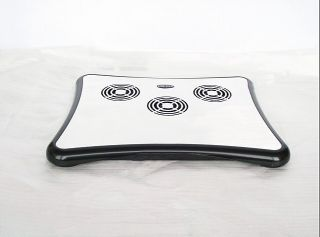 Notebook Laptop Cooler Pad Laptop Cooling Stand USB 4 Hub 3 Fans