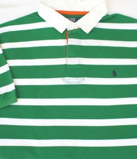 90 Polo Ralph Lauren Stripe Rugby Shirt 3XLT