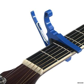 NEW KYSER BLUE KG6U QUICK CHANGE 6 STRING ACOUSTIC GUITAR CAPO +FREE
