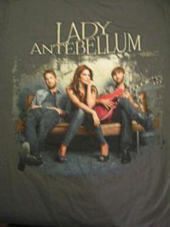 Lady Antebellum 2011 T Shirt M Tour Dates