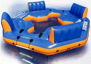 Relaxation Station Inflatable Float Pool Lake Raft New