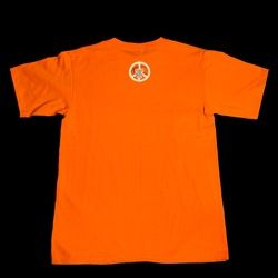 TN Lady Vols Peace Love Basketball Orange T Shirt