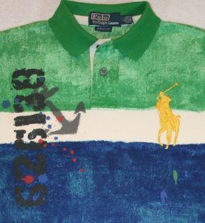 NWT $145 Polo Ralph Lauren SIZES L & XL Big Pony Custom Fit Mesh Shirt