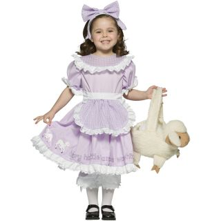 Mary Had A Little Lamb Child Costume Mary Nursery Rhyme Child Mary Kid