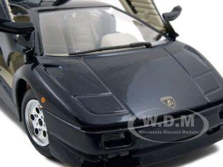 Lamborghini Diablo Black 1 24 Diecast Model Car