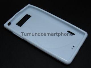 Funda Gel TPU Blanca LG Optimus L7 P700 P705 Modelo s Line En España
