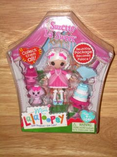 LALALOOPSY Mini SUZETTE LA SWEET w/ Puppy Doll #5 Series 6 HTF NIB