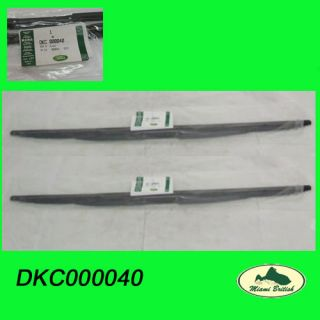 Land Rover Front Rear Wiper Blades Set Range 03 12 DKC000040 LR012047