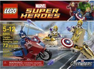 Lego Marvel Super Heroes 6865 Captain Americas Avenging