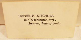 Dodge Dart Lancer 1962 Lot of 11 Color Business Cards