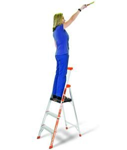 Little Giant 5 ft Flip N Lite stepladder 15273 New