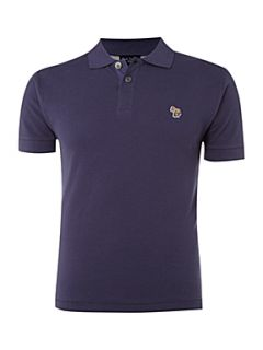 Paul Smith Jeans Regular zebra polo shirt Navy