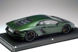 Lamborghini Aventador 2011 Psyche Green Mr Models 1 18 LAMBO06F