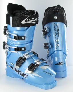 Lange World Cup 160 ZA ZA Crazy Blue 2008 Ski Boot 22 5