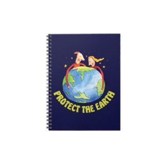Protect the Earth People Note Book