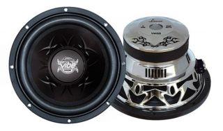 Lanzar VW154 15 4000W 4 Ohm Chrome Car Audio Power Subwoofers Subs