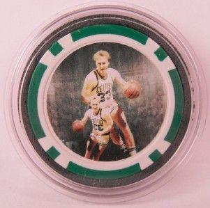 Larry Bird Boston Celtics Poker Chip Card Guard NBA WSOP