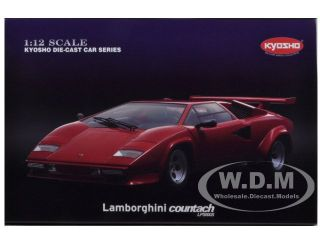 Lamborghini Countach LP5000S Red 1 12 Diecast Car Model by Kyosho