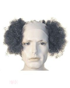 Stooges Larry Fine Curly Halloween Lacey Costume Wig