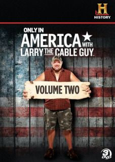 Only in America with Larry The Cable Guy Vol 2 New 3 DVD Set History