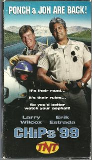 TNT Original 1999 Movie VHS Video Erik ESTRADA Larry WILCOX Ponch Jon