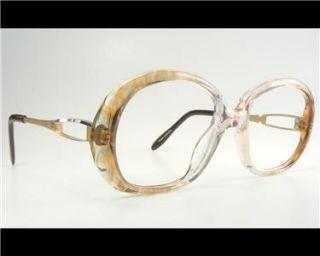 Womens Retro Large Plastic Vtg 80s Eyeglass Frames