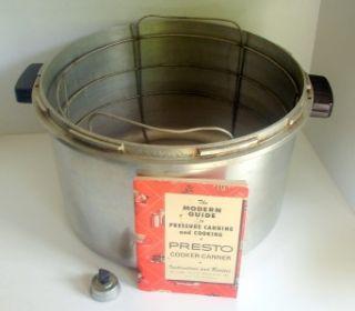 Presto Model 7B 4973 Pressure Cooker Canner Extra Large 16 Qt