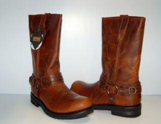 Harley Davidson Lantry Motorcycle Boots Mens D91329