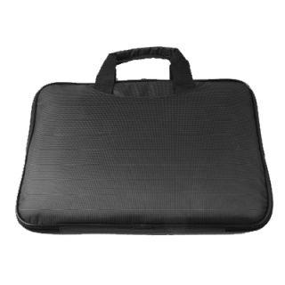 Black Nylon Laptop Notebook MacBook Air Sleeve Case w Handle Carry Bag