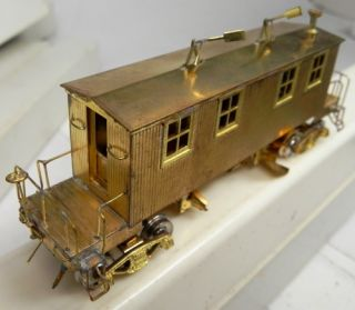 HO Brass So Pac Flanger Lamber SP Snow Plow Boxed Nice