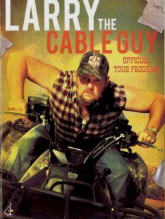 Larry The Cable Guy 2010 Tour Concert Program Book
