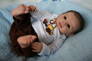 Pipsqueak Lars Prototype Brit Klinger~Reborn Baby Doll~ Sweet Baby Boy