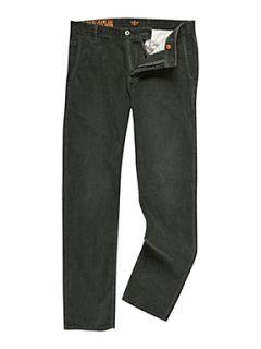 Dockers Alpha khaki tapered corduroy trousers Dark Green
