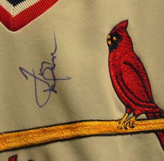 Tony LaRussa Autograph Signed Rawlings Baseball Jersey St Louis