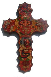 Big Straw Mosaic Cross by Guillermo Olay Gmomfa